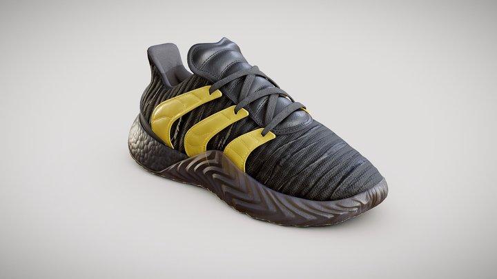 Adidas Sobakov 2.0 Originals black 3D Model