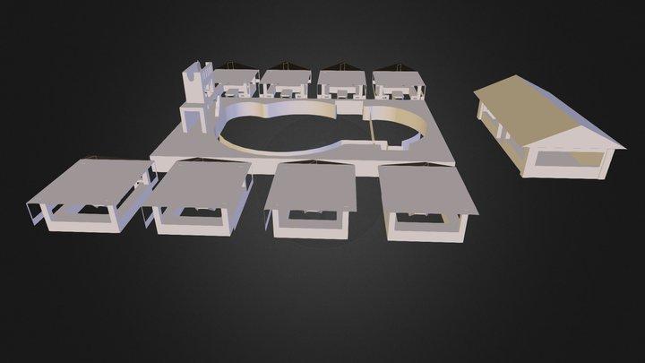 villa felicidad 3D Model