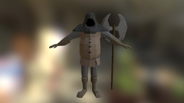 The Executioner 3D Model
