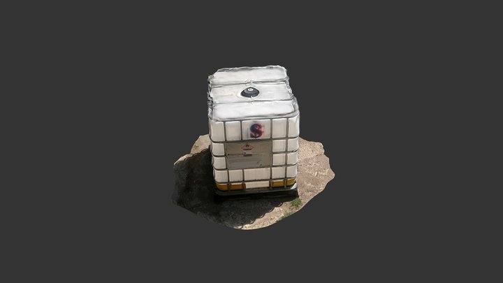Chemical Container 3D 3D Model