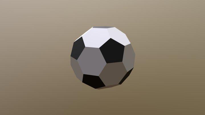 simple soccer ball 3D Model