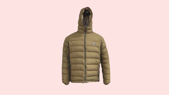 Patagonia Jacket - Lenscloud Scanner 3D Model