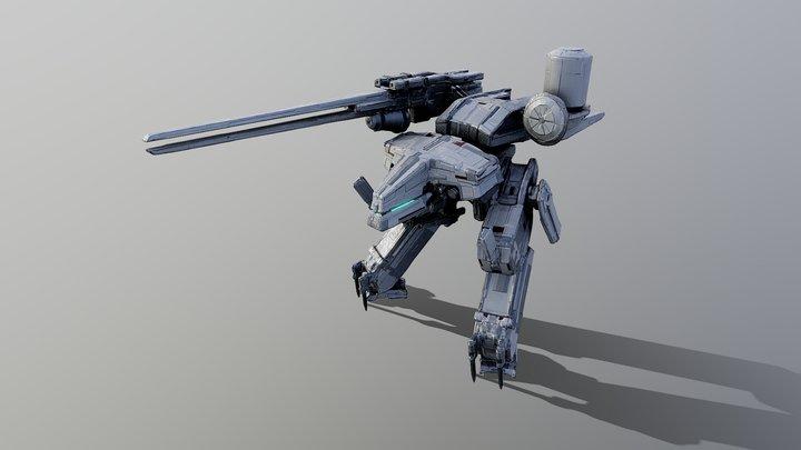 METALGEAR REX[Type:PATRIOT] 3D Model