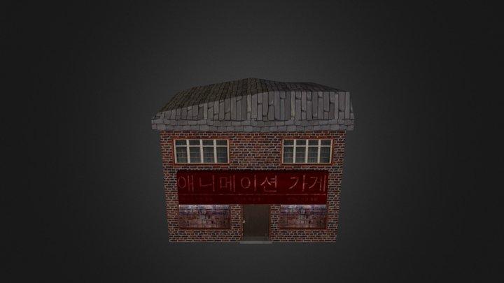 Anime Shop 3D Model
