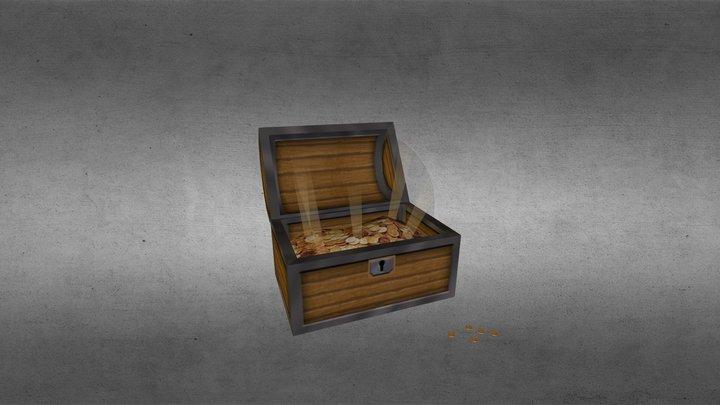TreasureBox 3D Model