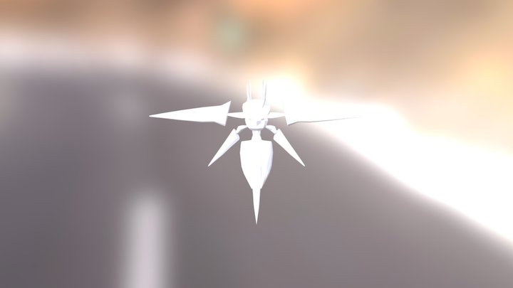 Mega Beedrill 3.0 3D Model