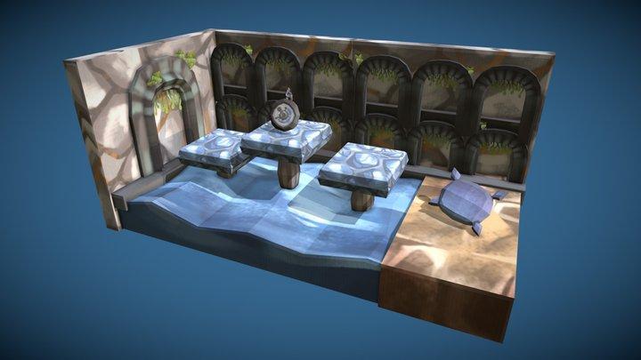 Dreamscape - Level Environment 3D Model
