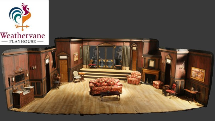 And Then There Were None - Weathervane Playhouse 3D Model