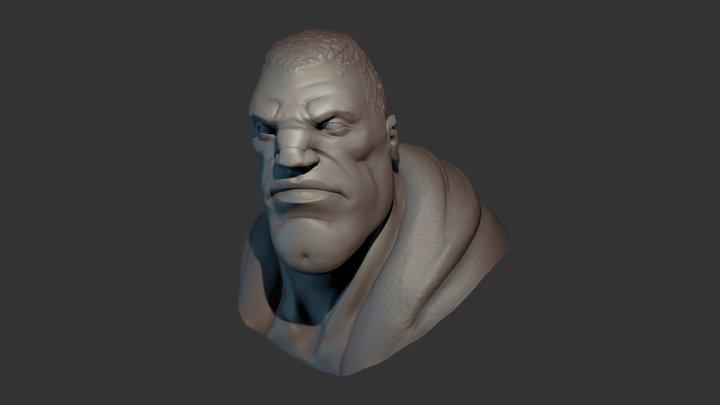 Balrog Bust 3D Model