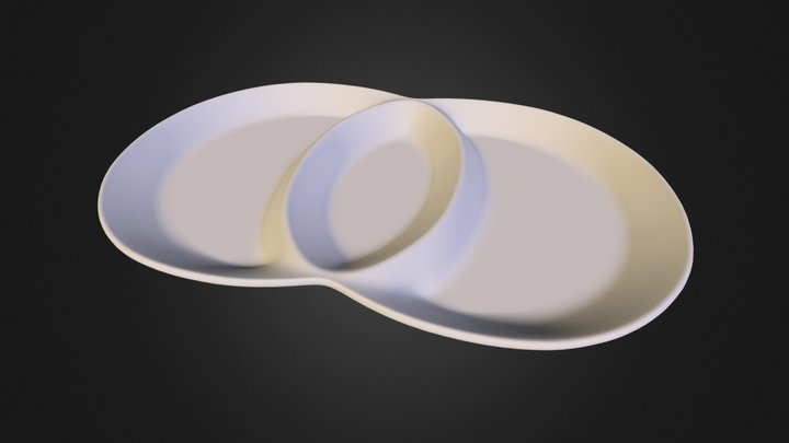 Porcelain tableware MGP1084 3D Model
