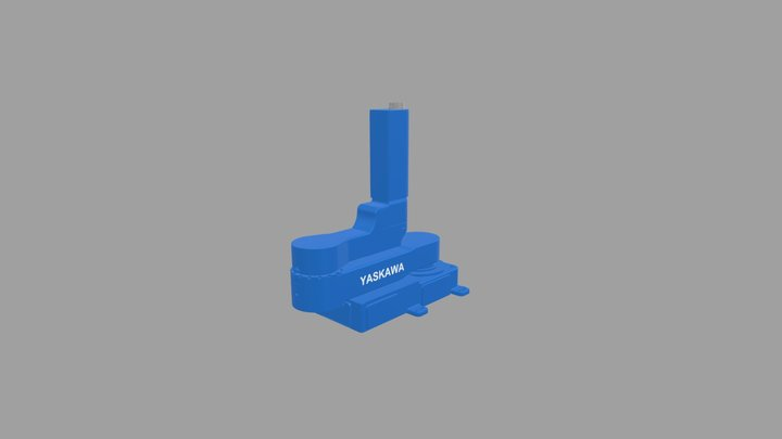 YASKAWA Robot No. MPO10 3D Model