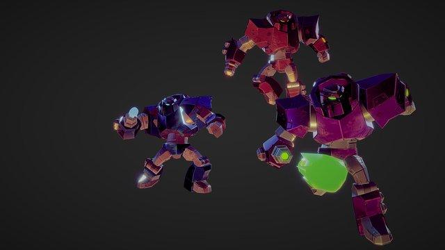 Bots 3D Model