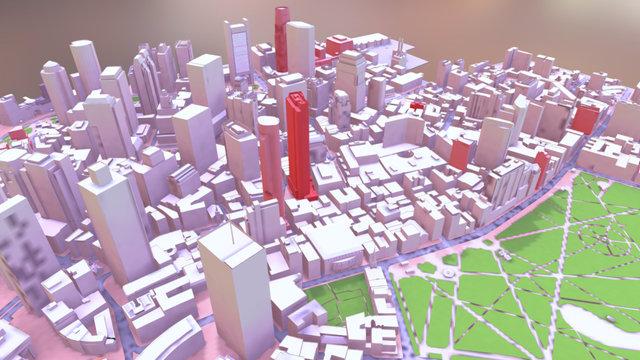 Downtown2016 3D Model