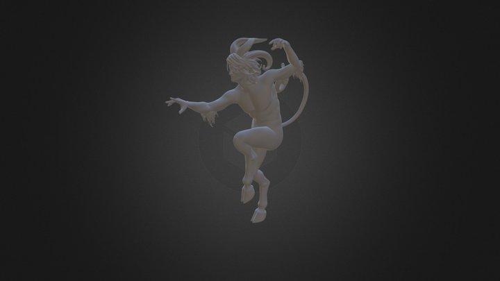 Sátiro 3D Model
