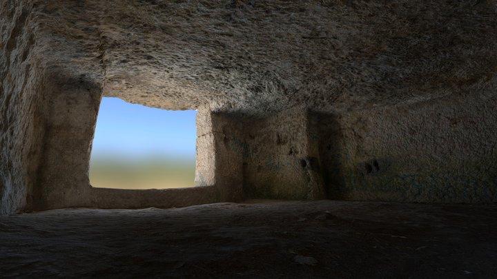 Room on the edge of the cliff, Chufut Kala 3D Model
