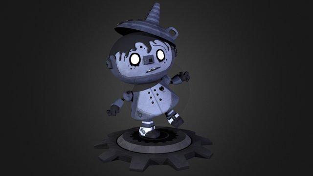 Tin Boy 3D Model