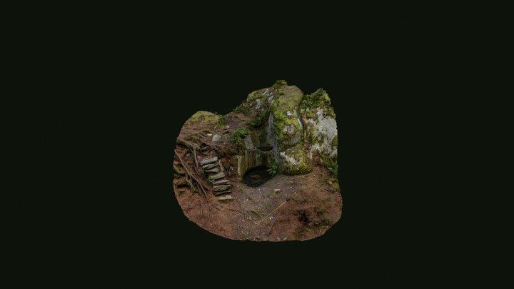 Jollaksen hiidenkirnut / Giant's kettle 3D Model