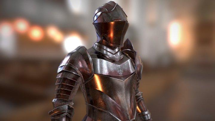 Knight (Final) 3D Model