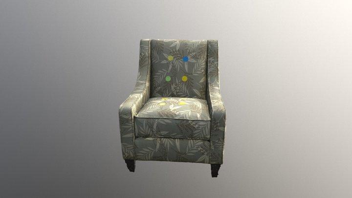 KV Chair 003 Filter 01 3D Model