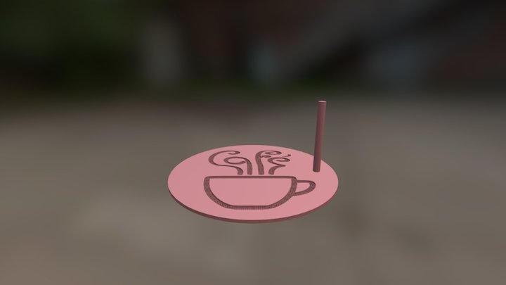 Steam Stencil Seive 1mm 3D Model