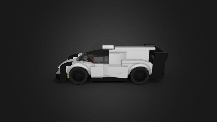 LEGO Porsche 919 Hybrid 3D Model