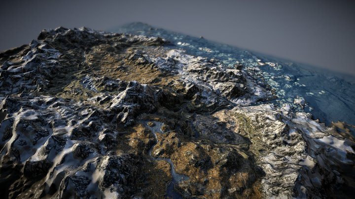 Skyrim 3D Map 3D Model