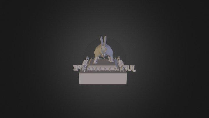 Felicity's Jurassic Shoppe  3D Model