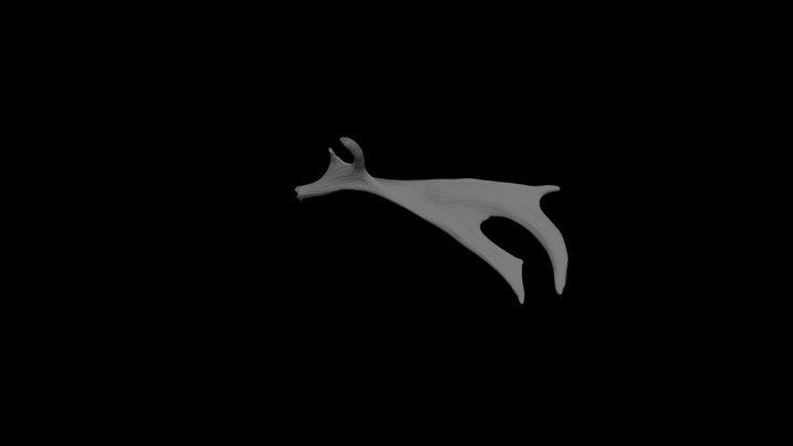 Deer antler 3D Model