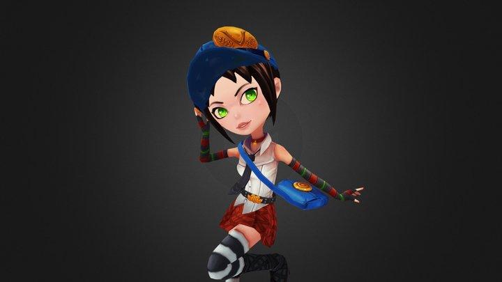 Marie Pose 3D Model