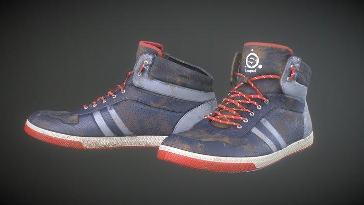 sketchfab-texturing-challenge-shoes 3D Model