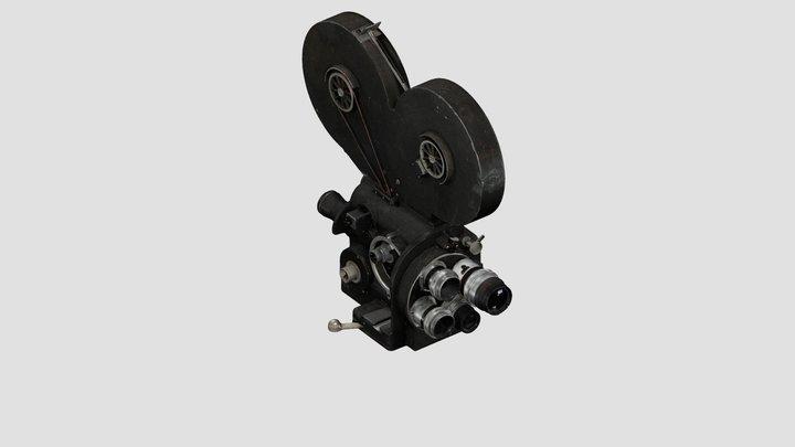 Caméra 35 mm Mitchell SS 3D Model