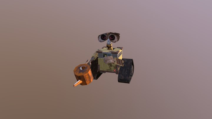 Wall-E Model 3D Model