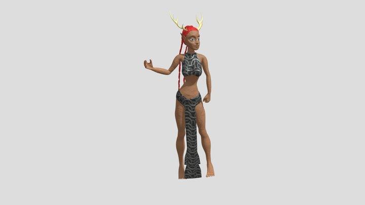Maga 3D Model