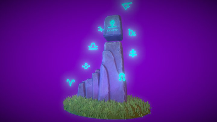 Monument to the Gods 3D Model