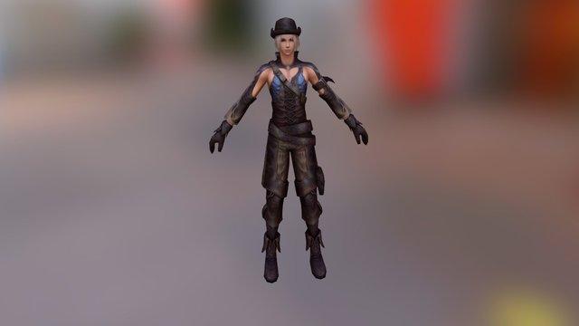 [H] Character 3D Model