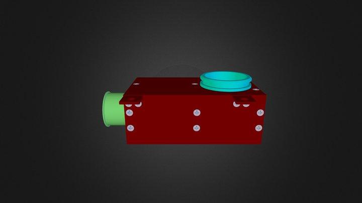 housing assembly - bonded 3D Model