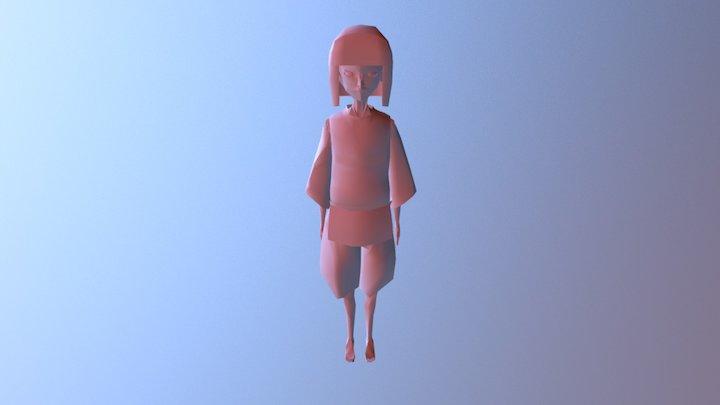 Yuri Usuda Haku FINAL 3D Model