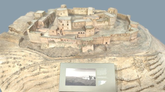 Model of the Krak des Chevaliers 3D Model