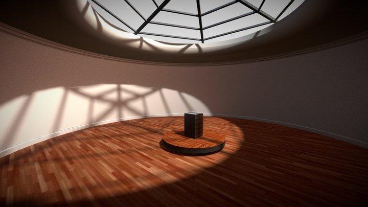 VR Gallery - Light Baked 3D Model