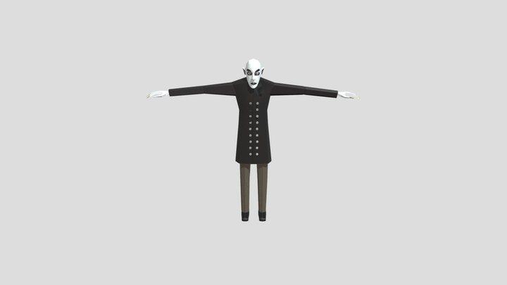 Slendrina's Husband 3D Model