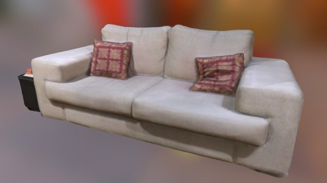 iSense Test - Couch 3D Model