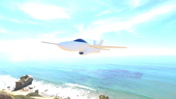 CAF-X2 Fiyah/Fire Galash 3D Model