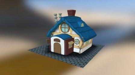 PANCAKE & COFFEE SHOP 3D Model
