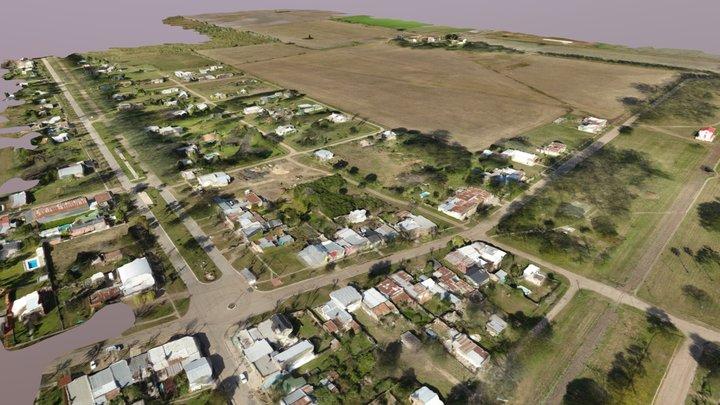 Campo en Santa Fe, Argentina 3D Model