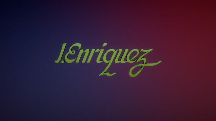 Logo J Enriquez 3ds 3D Model