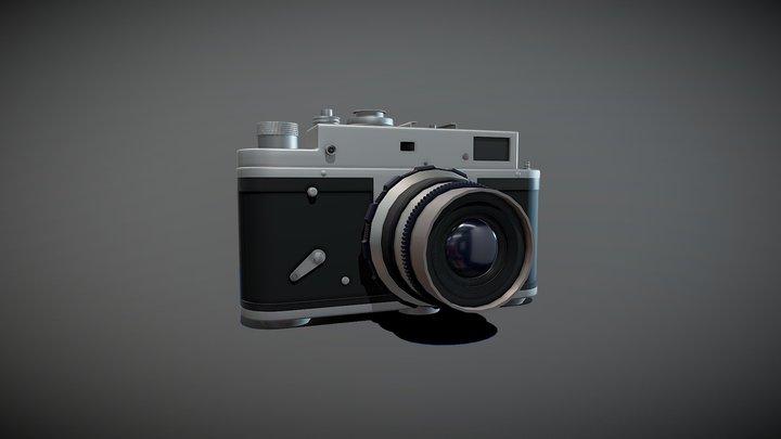 Camera Zorki - 4 3D Model