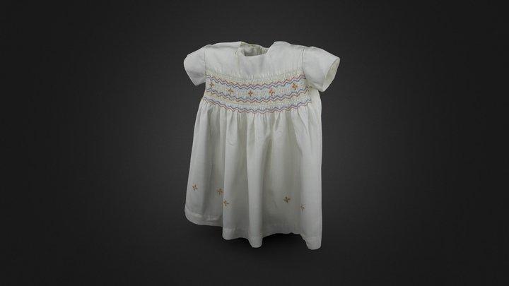 Mother's baby dress 3D Model
