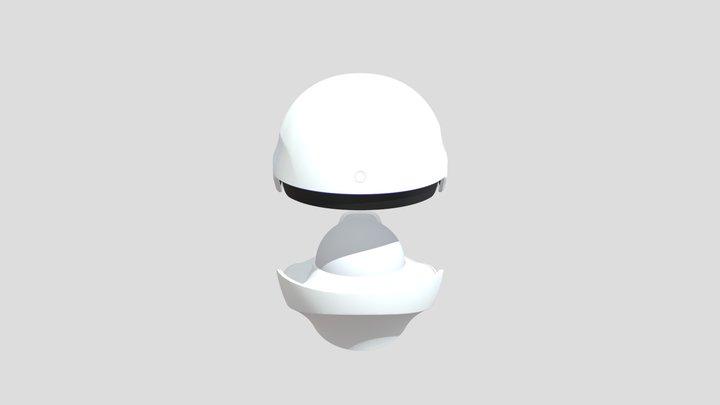 CELLRETURN LED Hair Alpha-Ray 3D Model