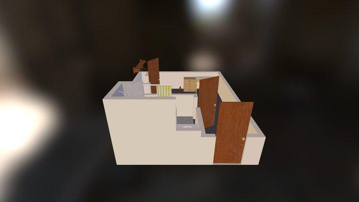 44 ADA Room 3D Model