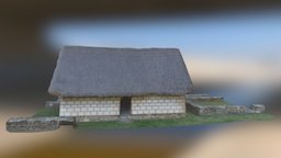 Casa Inca- Pumapungo 3D Model